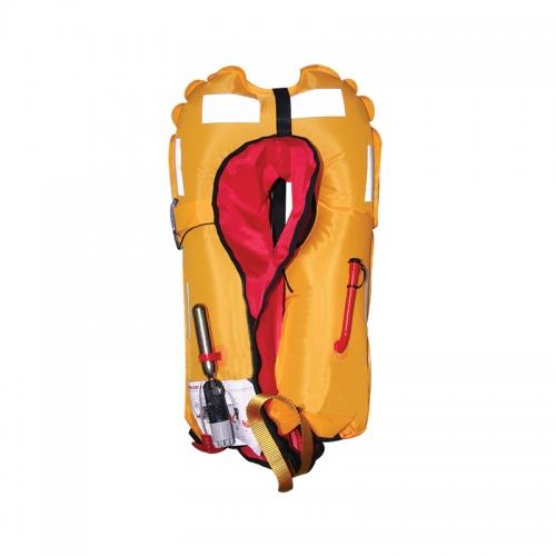 Жилет Lalizas Sigma спасательный надувной авто, тип 170N, красный