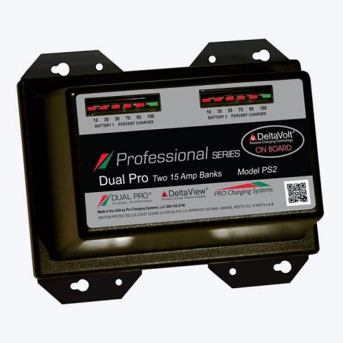 Зарядное устройство Dual Pro Professional Two 15 Amp Bank