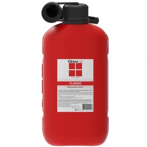 Канистра OKTAN CLASSIC для ГСМ 10л красная