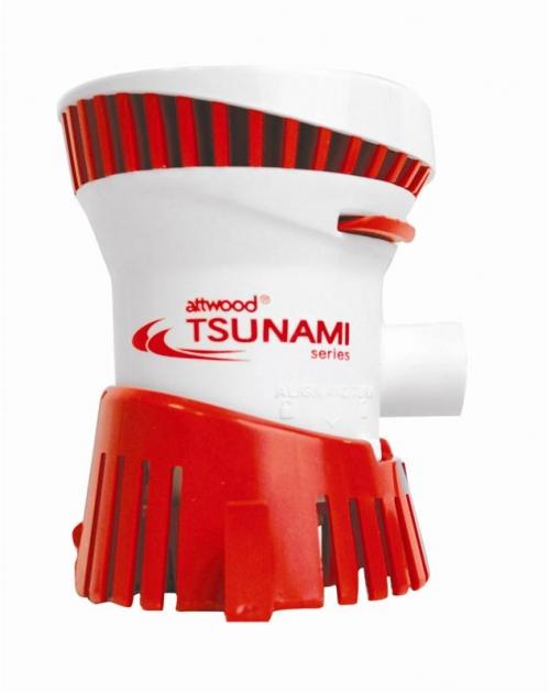 Помпа Attwood Tsunami T500 non-auto 500GPH, 32 л/м, 12В