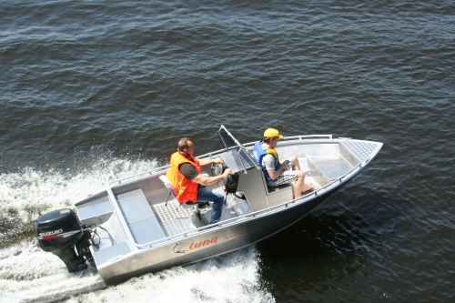Лодка TUNA Boats 485 CС