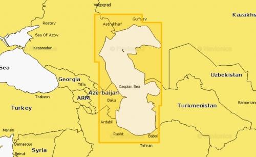 Карта Navionics Каспийское море