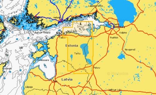 Карта Navionics NARVA LAHT