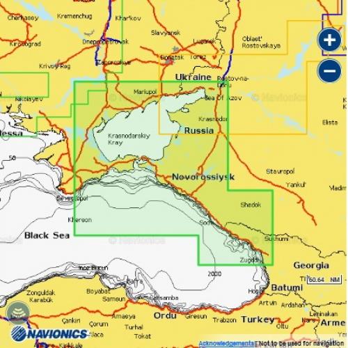 Карта Navionics Азовское море