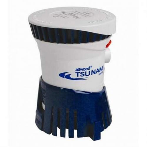 Помпа трюмная Attwood Tsunami T800 non-auto 800GPH, 50.4 л/м, 12В