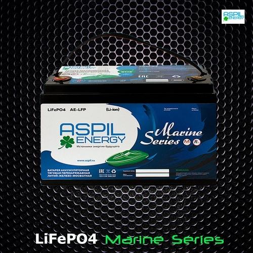Аккумулятор литий-ионный (LifePO4), тяговый AE-LFP1266 (12V,66Ah)