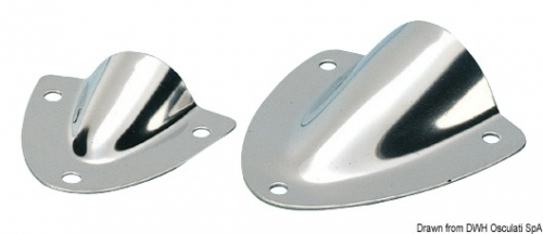 Крышка вентиляционная 90x86x28x0.8мм нержавеющая сталь