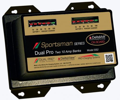 Зарядное устройство Dual Pro Sportsman Two 10 Amp Bank