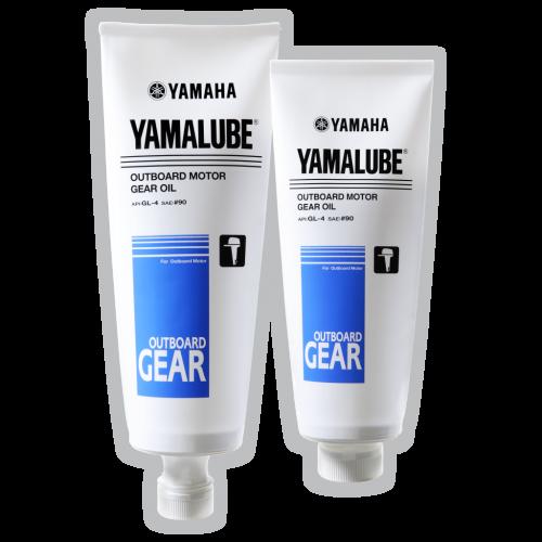 Масло трансмиссионное Yamalube Outboard Gear Oil GL-4 SAE 90 для лодочных моторов