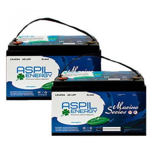 Комплект аккумуляторов литий-ионных (LifePO4), тяговые AE-LFP2472 x2 акб (24V,144Ah)
