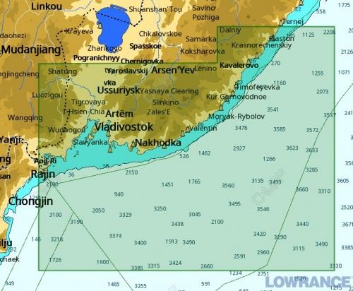 КАРТА C-MAP Кенсонский залив - Пластун (Владивосток)