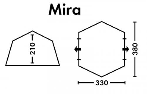 Шатер кемпинговый FHM Mira