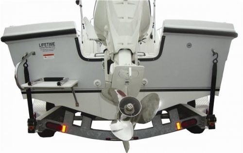 Стропы для транцевого крепления лодки