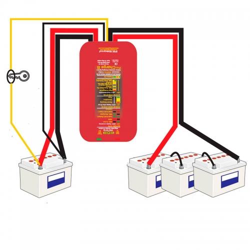 Зарядное устройство от генератора Sterling Power BBW 1224