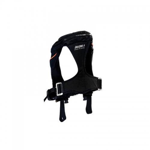 Жилет Lalizas Kappa спасательный надувной авто, тип 180N, черный
