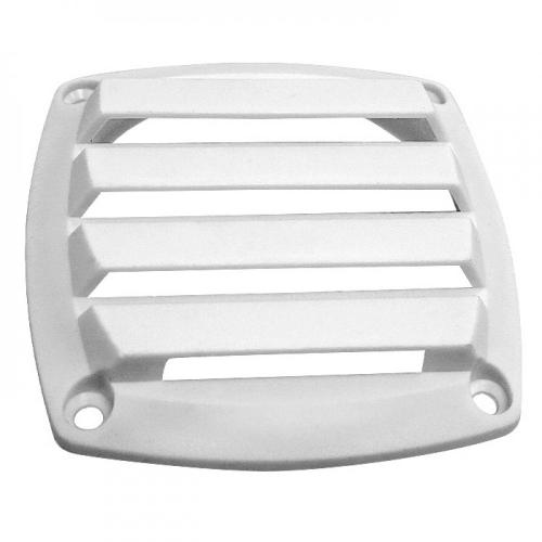 Решетка вентиляционная CIM, 85х85 мм, ABS пластик, белая
