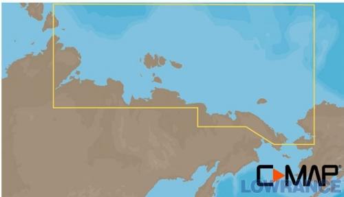 КАРТА C-MAP Северо-Восточное побережье России: от пролива Вильницкого до Берингова пролива