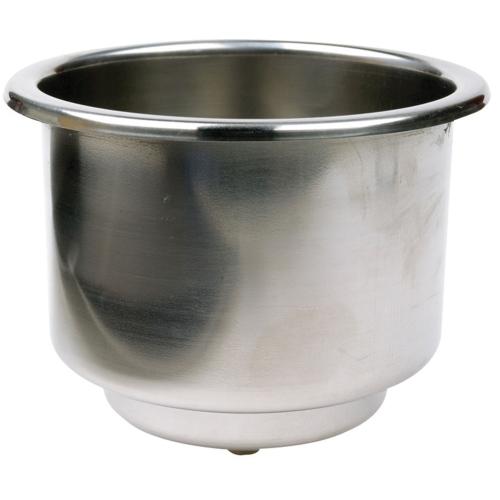 Подстаканник Attwood нержавеющая сталь d 79,4 мм х 95,2 мм