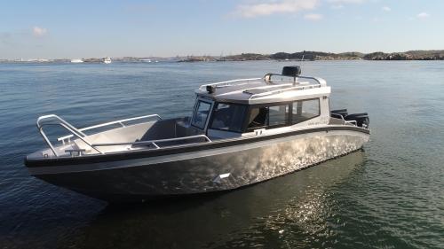 Лодка TUNA Boats 865 CABIN