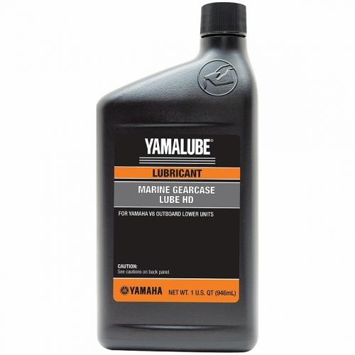 Трансмиссионное масло Yamalube GL-5 Marine Lower Unit Gear Lube HD