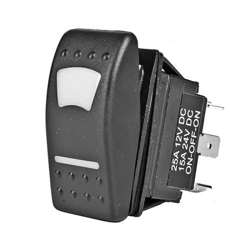 Переключатель TMC вкл-выкл-вкл герметичный с подсветкой