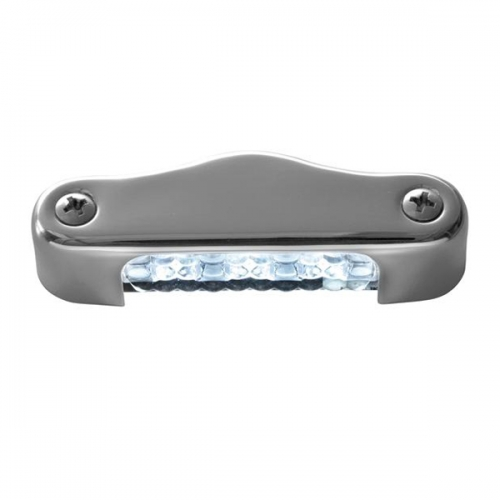 Подсветка Attwood светодиодная водонепроницаемая в стальном корпусе, белый