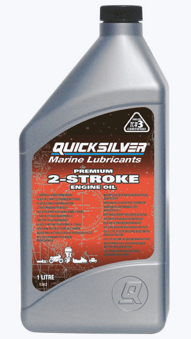 Quicksilver моторное масло 2-cycle TC-W3 Premium outboard oil