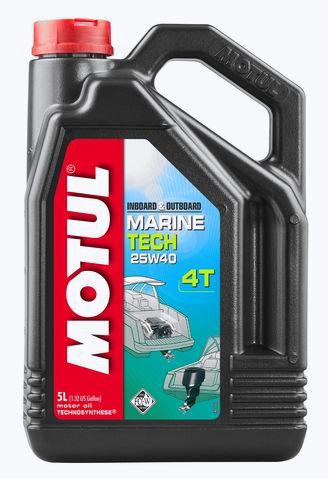 Моторное масло Motul MARINE TECH 4T 25W40
