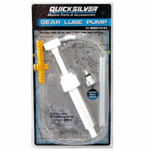 Quicksilver насос для закачки масла в редуктор