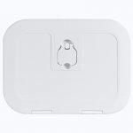 Люк инспекционный Osculati FLUSH 380x280мм, белый пластик