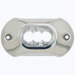 Огонь подводный белый Attwood Light Armor LIGHT-UW,12/24,03LED,WHT