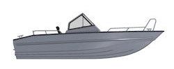 Лодка TUNA Boats 545 TT
