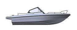 Лодка TUNA Boats 585 DC