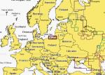 Карта Navionics Калининградская область