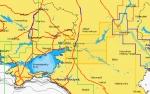 Карта Navionics Волго-Донской канал, нижний Дон