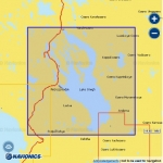 Карта Navionics Онежское озеро