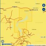 Карта Navionics Красноярское водохранилище