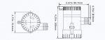Помпа SeaFlo 12B 500GPH non-auto