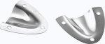 Накладка - Ракушка вентиляционная (VENT-CLAM SHELL SS SMALL)Attwood