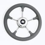 Колесо рулевое Ultraflex V.52G серое