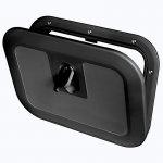 Люк инспекционный Osculati FLUSH 380x280мм, черный пластик