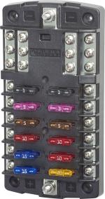 BlueSea 5026 ST-Blade блок на 12 предохранителей