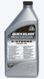 Quicksilver моторное масло 2-cycle TC-W3 Premium PLUS outboard oil