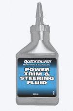 Quicksilver гидравлическая жидкость Power Trim and Steering Fluid