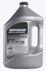 Quicksilver моторное масло 4-cycle 25W40 synthetic blend oil