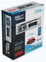 Влагозащищенная морская магнитола Boss Audio 4x50Вт MR508UABW