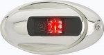 Навигационные огни Attwood LightArmor LED (красный) нержавеющая сталь 12В