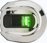 Навигационные огни Attwood LightArmor LED (красный и зеленый) нержавеющая сталь 12В