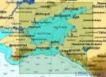 КАРТА C-MAP Азовское море и восточная часть Черного моря