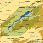 КАРТА C-MAP Новосибирское водохранилище